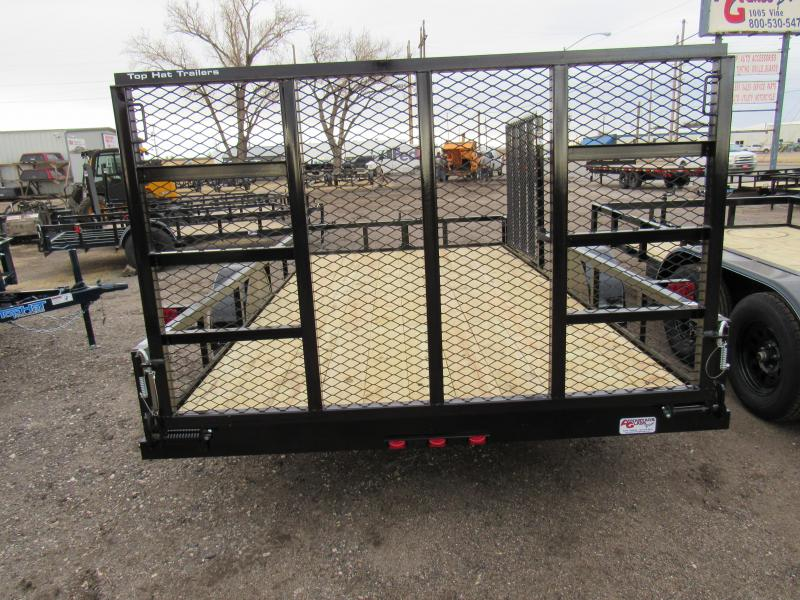 """2021 Top Hat Trailers 83"""" X 14' Utility Trailer"""