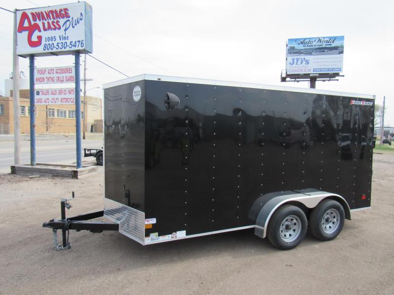 2021 Wells Cargo 7 X 14 V-Nose Enclosed Cargo Trailer