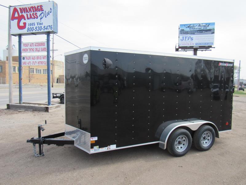 2021 Wells Cargo 7 X 14 V-Nose Enclosed Cargo Trailer