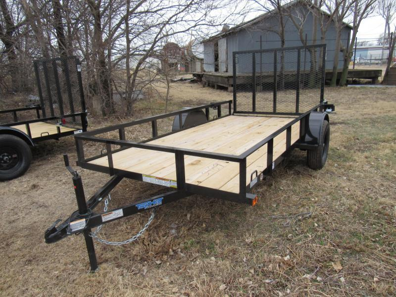 2020 Top Hat Trailers 6' X 12' Express Utility Trailer
