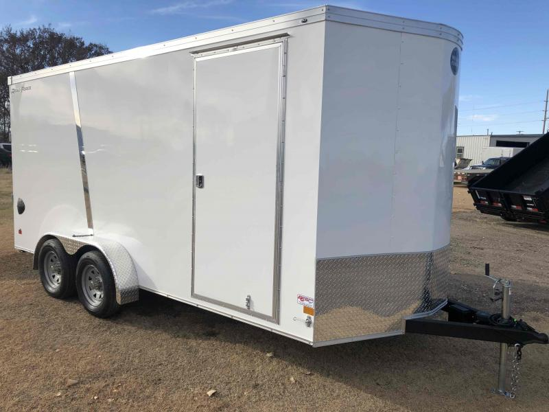 2021 Wells Cargo Road Force 7 X 16 V-Nose Enclosed Cargo Trailer