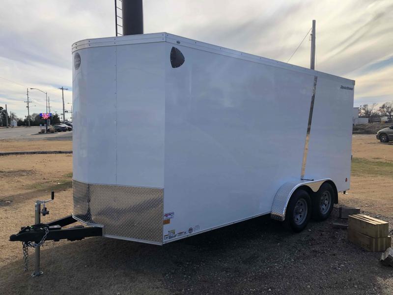 2021 Wells Cargo Road Force 7 X 16 V-Nose Enclosed Cargo Trailer