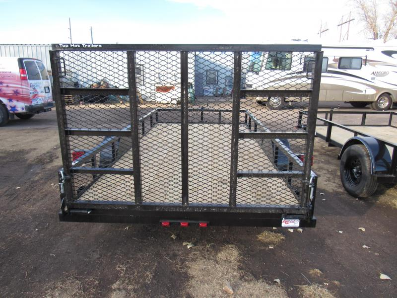 """2020 Top Hat Trailers Derby Sr Angle 77"""" X 12' Utility Trailer"""