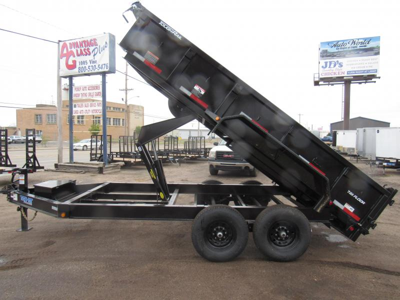 "2020 Top Hat Trailers 83"" X 14' Lo Pro Dump Trailer"