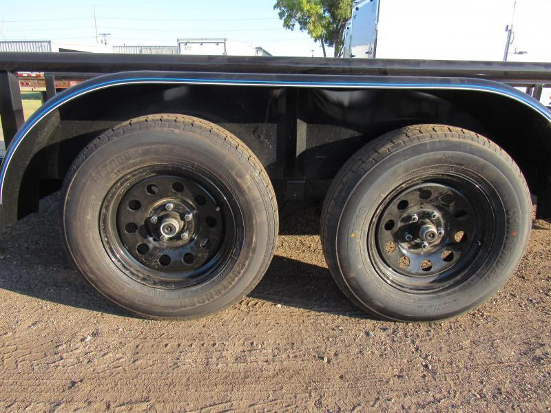 """2021 Top Hat Trailers 83"""" X 16' Tandem Axle Utility Trailer"""
