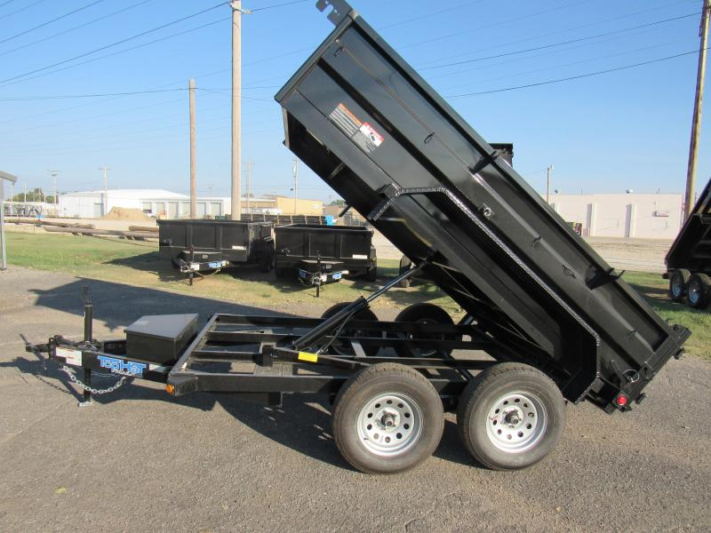 "2021 Top Hat Trailers 77"" X 10' 7K GVWR Dump Trailer"