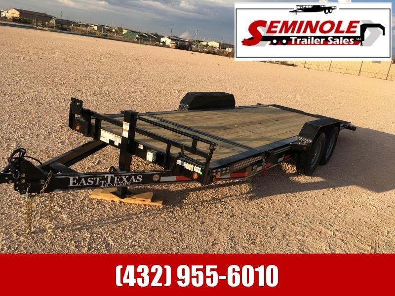 2022 East Texas 83X20 TILT DECK 14K Equipment Trailer