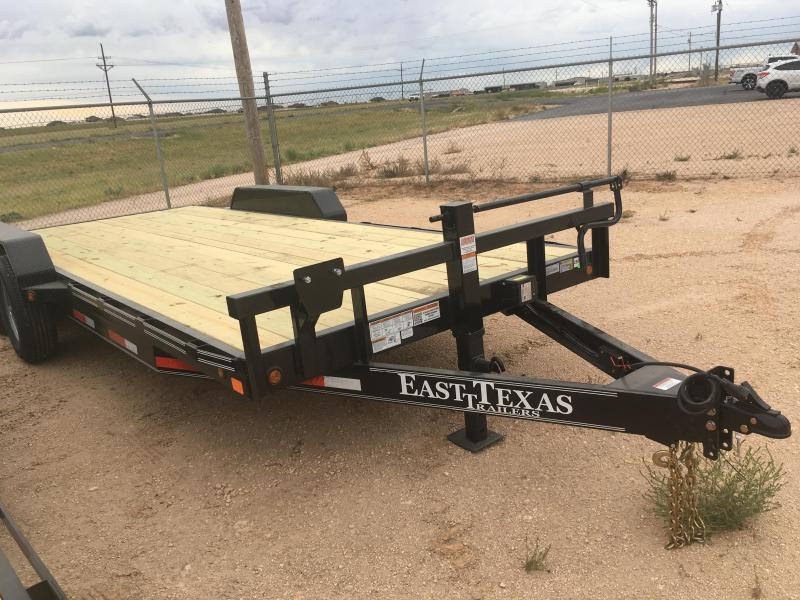 """2022 East Texas 83""""20' CH8320072 Equipment Trailer"""