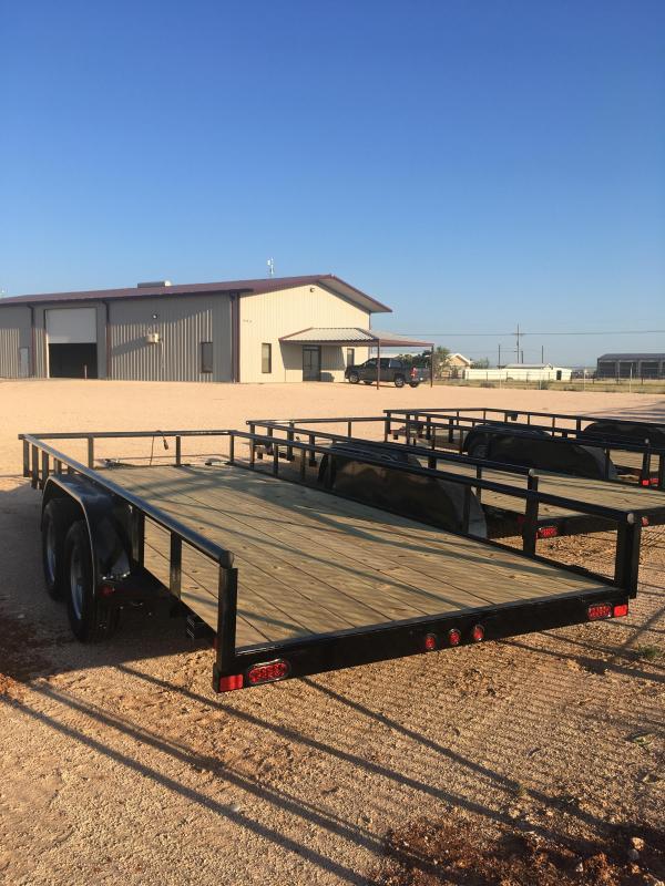 """2022 East Texas 83""""18' UT8318032 Utility Trailer"""
