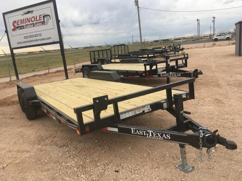 "2022 East Texas 83""20'8320062 Equipment Trailer"