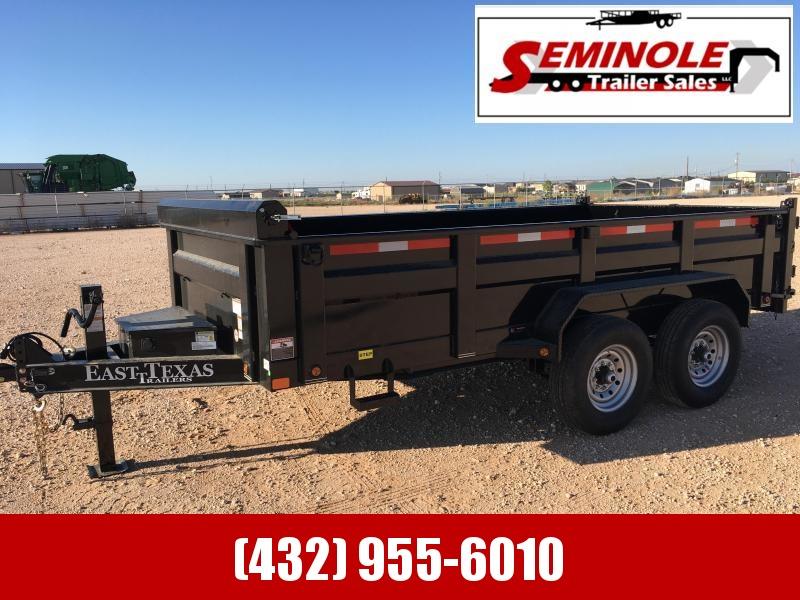 2022 East Texas 83:X14  Dump Trailer Seminole TX