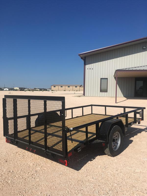 "2022 East Texas SA7712031 77""X12' Utility Trailer"