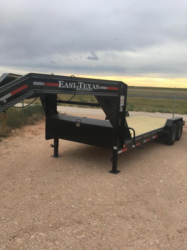 "2022 East Texas 83""X22' GC8322072 Equipment Trailer"