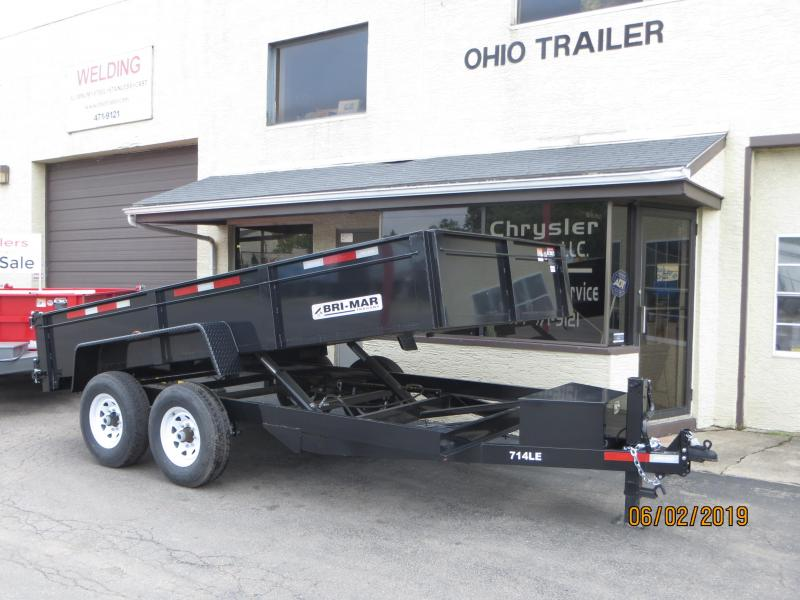 2020 Bri-Mar DT714LP-LE Dump Trailer