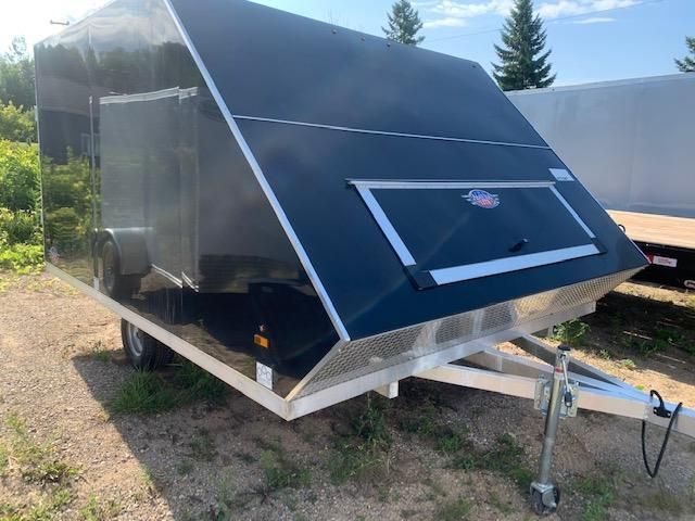 2020 US Cargo 8.5x12 aluminum Snowmobile Trailer