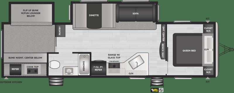 2021 Keystone RV Springdale 303BH Travel Trailer RV