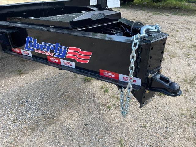 "2021 Liberty 102""X25' DECKOVER Equipment Trailer"