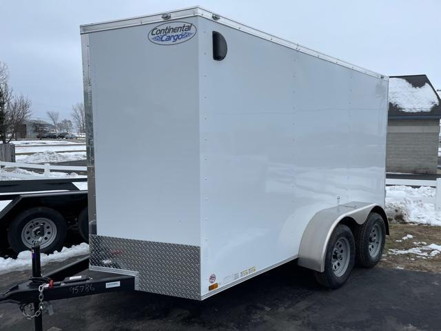 2021 Continental Cargo 6x12 Enclosed Cargo Trailer