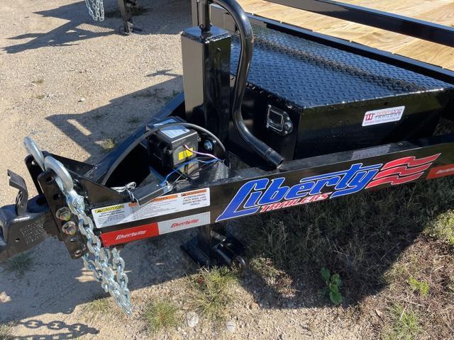 2021 Liberty 7x22 Power Tilt Equipment Trailer
