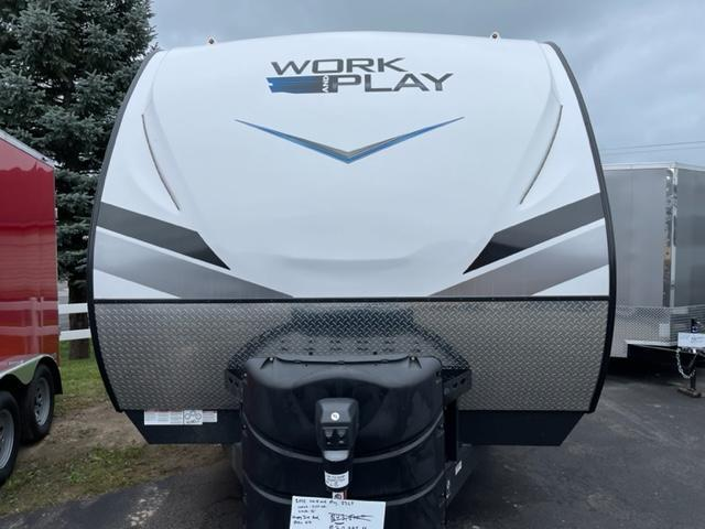 2022 Forest River Work And Play 23LT Toy Hauler RV