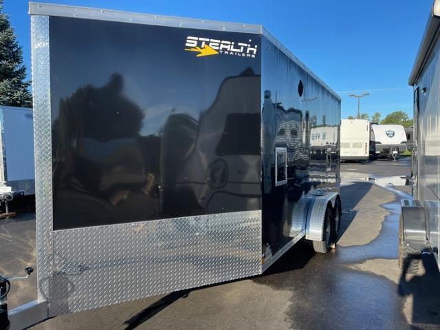 2022 Stealth Trailers 7x21 Apache Snowmobile Trailer