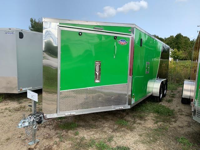 2021 Amera-Lite 7x23 aluminum Snowmobile Trailer