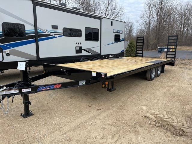 "2021 Liberty 102""x23' Deckover Flatbed Trailer"