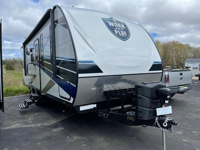 2021 Forest River, Inc. Work And Play 23LT Toy Hauler RV