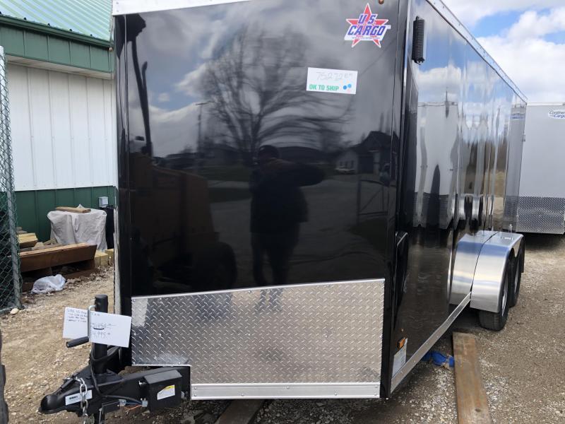 2020 US Cargo 7x16 Enclosed Cargo Trailer