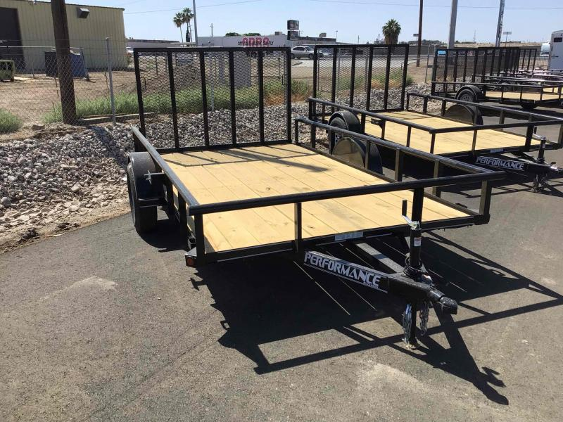 2021 Performance Trailers SA8312 Utility Trailer
