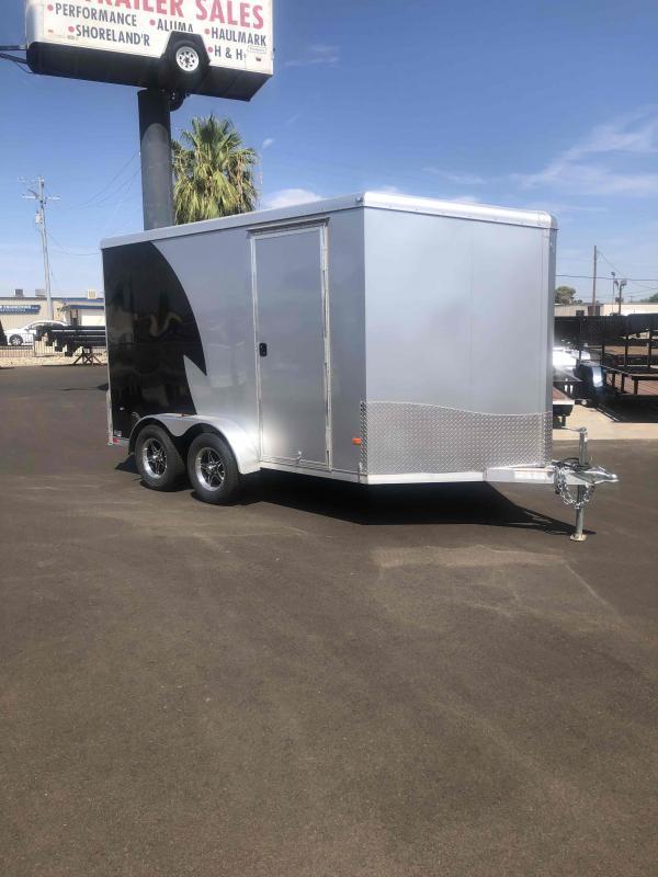 2020 NEO Trailers NAV127TF Flat Top Cargo Enclosed Cargo Trailer