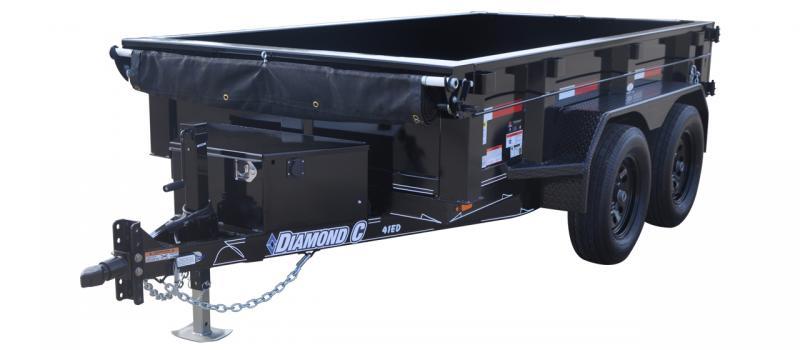 2021 Diamond C Trailers EDG Dump Trailer