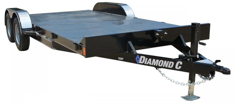 2021 Diamond C Trailers GSF Car / Racing Trailer
