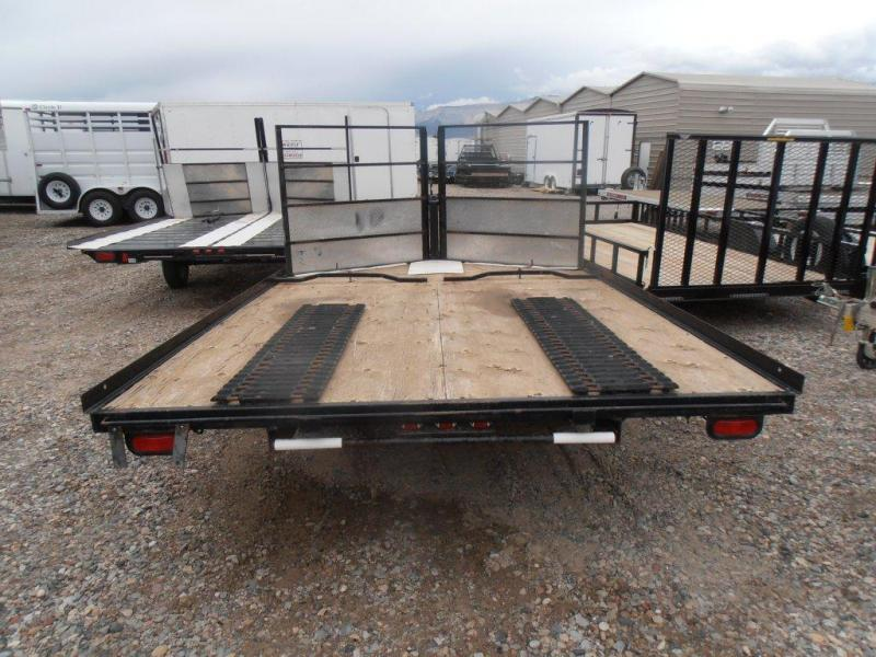 2003 VOYAGER 2 PLACE Snowmobile Trailer