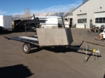 2011 Echo Trailers 2 PLACE Snowmobile Trailer