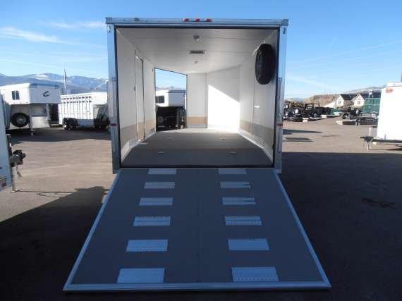 2013 Charmac Trailers 20 All Aluminum Enclosed Snowmobile Trailer