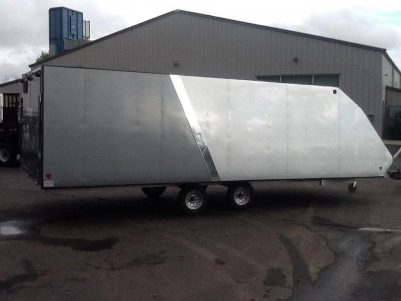 2015 Mission 8.4 x 22 Snowmobile Trailer