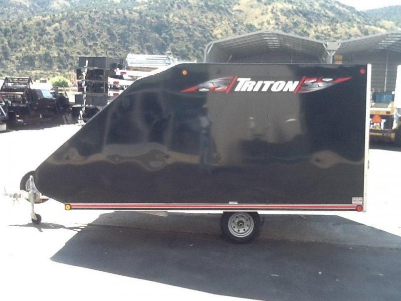 2013 Triton Trailers TC 12-8 Snowmobile Trailer