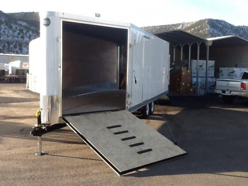 2015 Wells Cargo FTS85284 Snowmobile Trailer