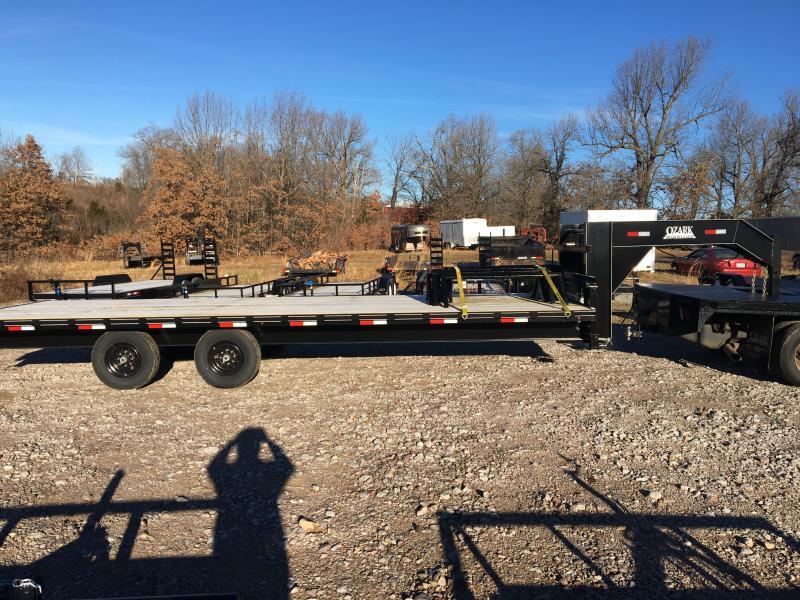 2021 Ozark Ozark 25' Float 14k GVWR Equipment Trailer