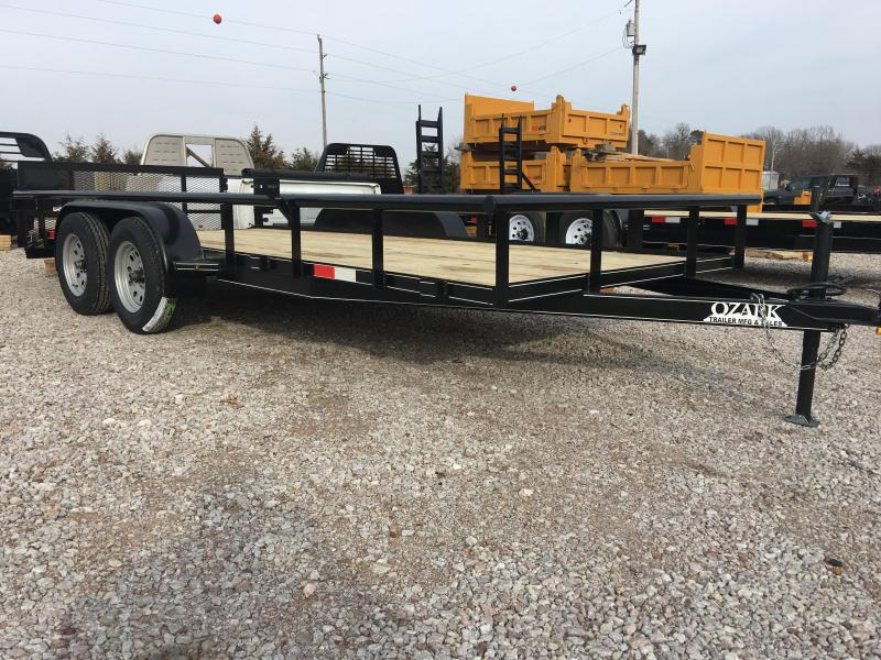 Ozark 82 x 18 10K Preferred Package Utility Trailer