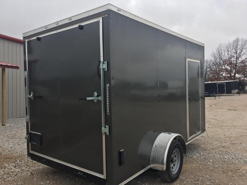 Ozark 7 X 12 Enclosed Cargo Trailer 3.5K