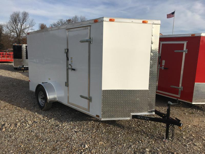 2021 Cynergy Cargo 6x12 Single Axle Enclosed Cargo Trailer