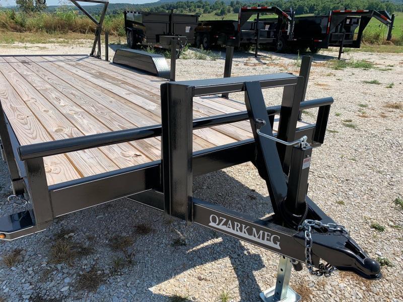2021 Ozark 82x20 14k Log Loading Trailer Equipment Trailer