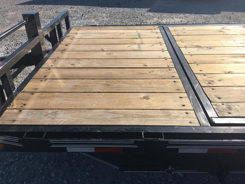 2021 Elite Trailers 82x20 14k Gravity Tilt Equipment Trailer