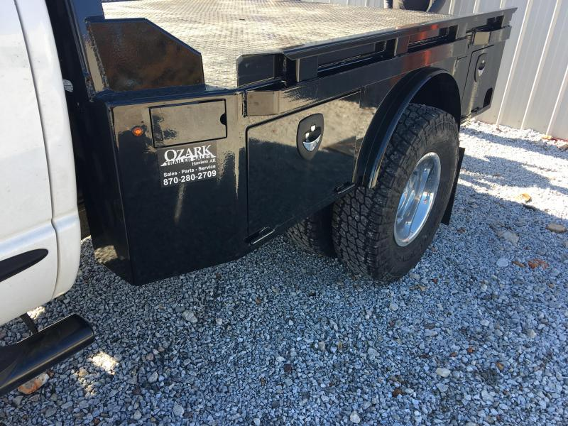 Crownline Skirted Dual Rear Wheel Truck Bed