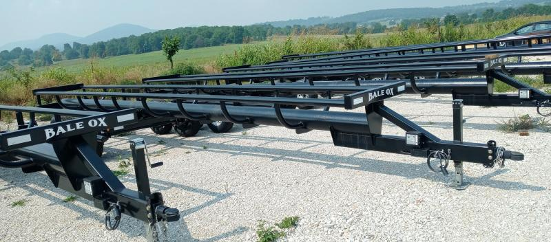 2021 Ozark Trailer Mfg Bale Ox Bumper Pull Equipment Trailer