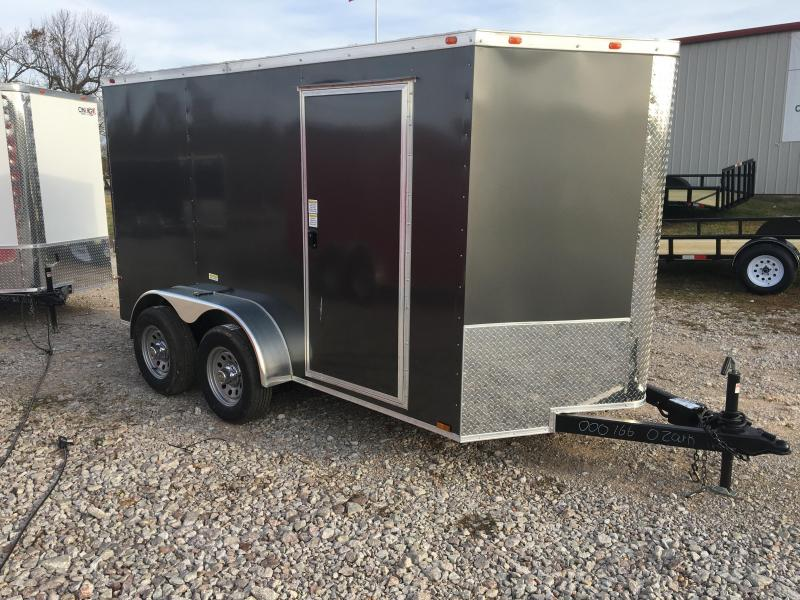 2021 Cynergy Cargo 6x12 Tandem Axle w/ Ramp Door Enclosed Cargo Trailer