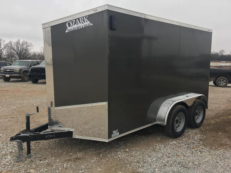Ozark 6 X 12 Tandem Axle Enclosed Cargo Trailer 7K
