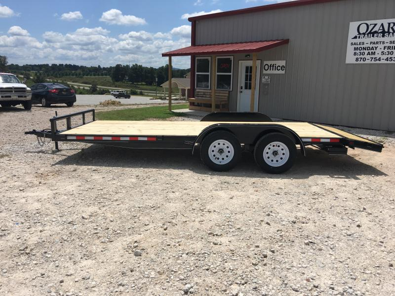 2021 Ozark 82x20 w/ 2' Dovetail & 4' Ramps Equipment Trailer